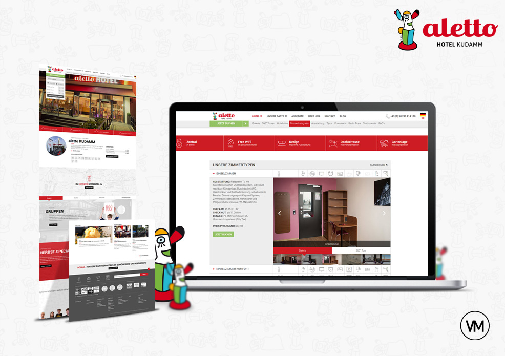 aletto Hotel Website